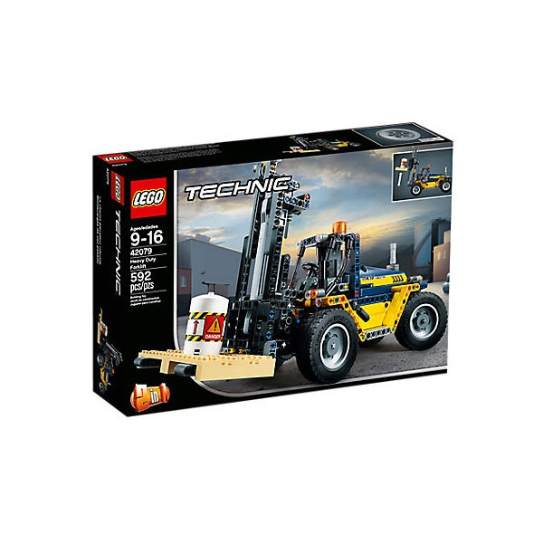 Lego Technic 42079 Schwerlast Galbelstapler