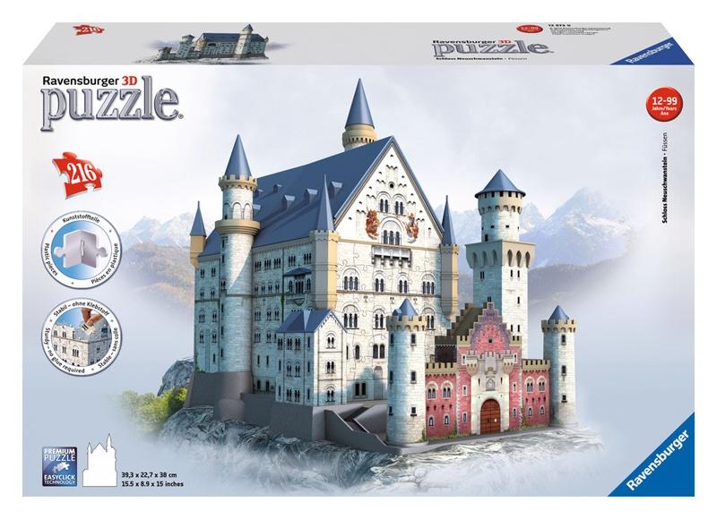Ravensburger Puzzle 3D Schloss Neuschwanstein