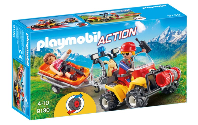 Playmobil 9130 Action Bergretter-Quad