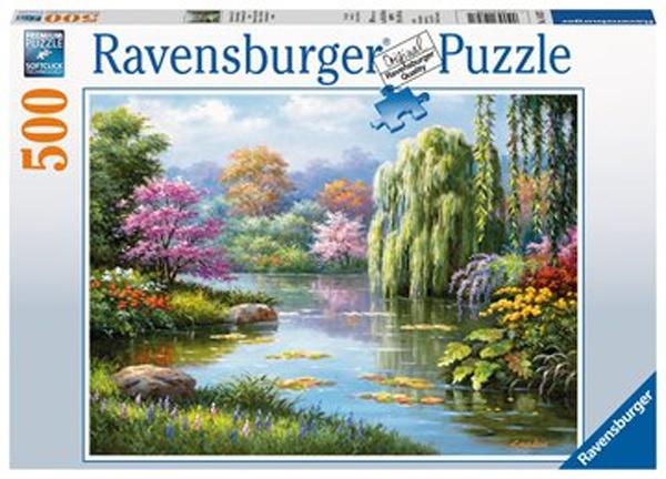Ravensburger Puzzle Romantischer Teich