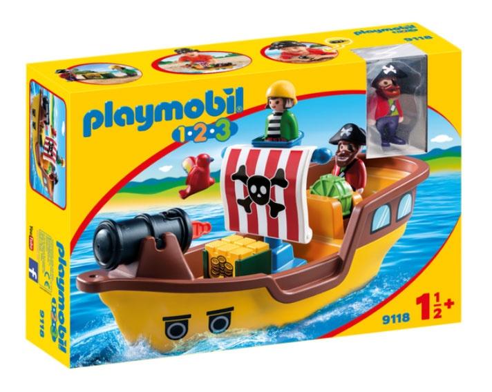 Playmobil 9118 1.2.3 Piratenschiff