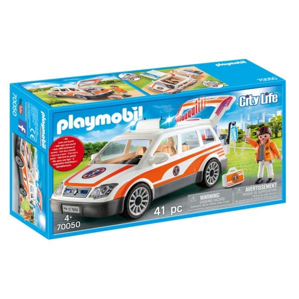 Playmobil 70050 City Life Notarzt-PKW mit Licht und Sound