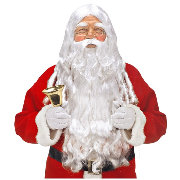 Kostüm Zubehör Weihnachtsbart