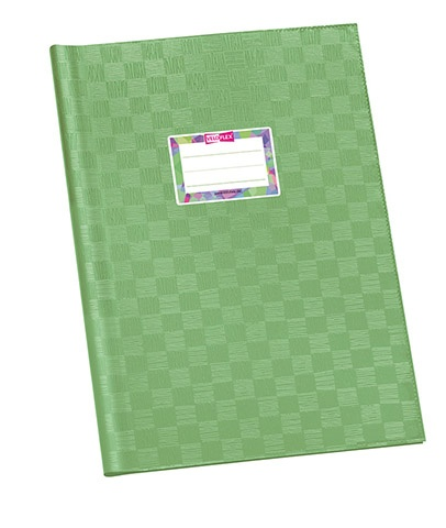 Hefthüller A4 hellgrün gedeckt