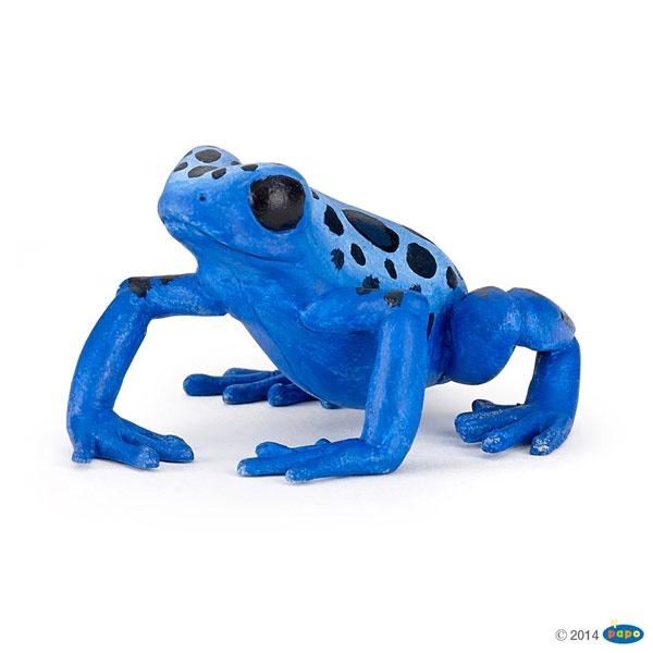 Papo 50175 Blauer Frosch