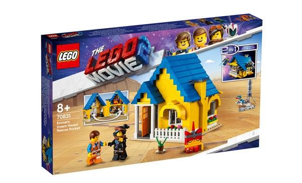 Lego Movie 2 70831 Emmets Traumhaus - Rettungsrakete