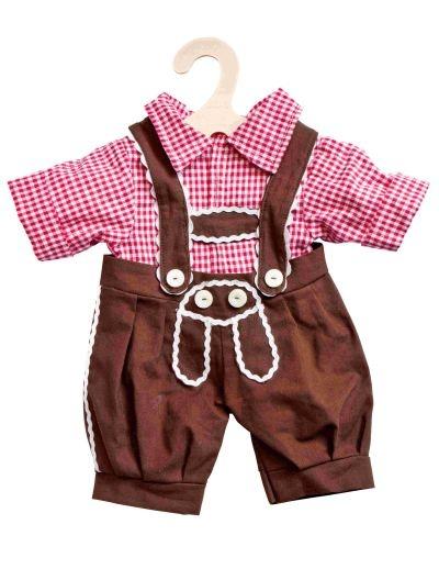 Heless Puppen Kniebundhose mit Hemd
