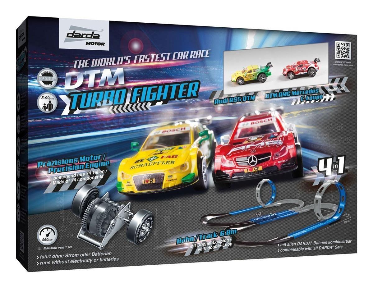 Darda DTM Autorennbahn Turbo Fighter