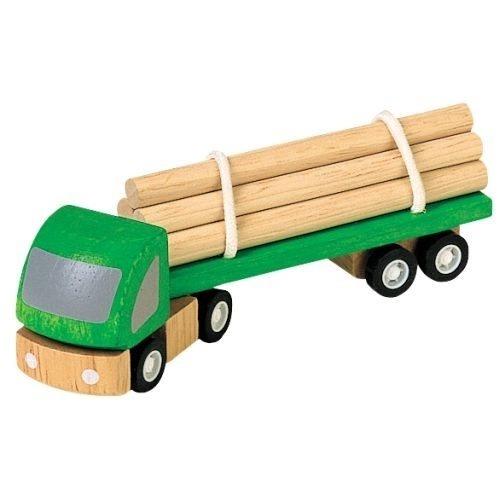 Holztransporter Auto aus Holz von Plantoys