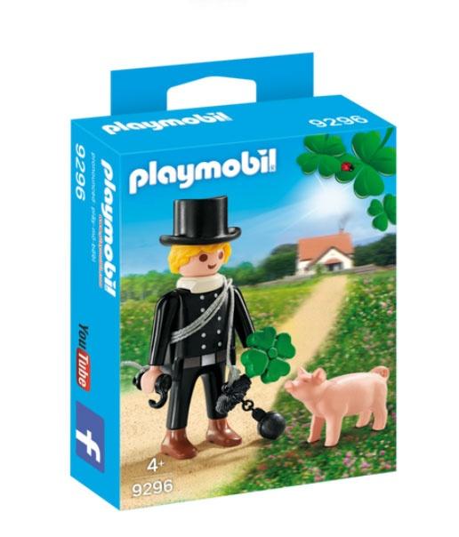 Playmobil 9296 Schornsteinfeger mit Glücksschwein