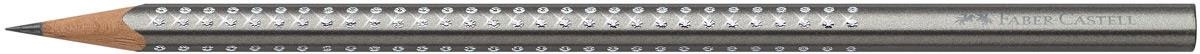 Faber Castell Bleistift Sparkle silber