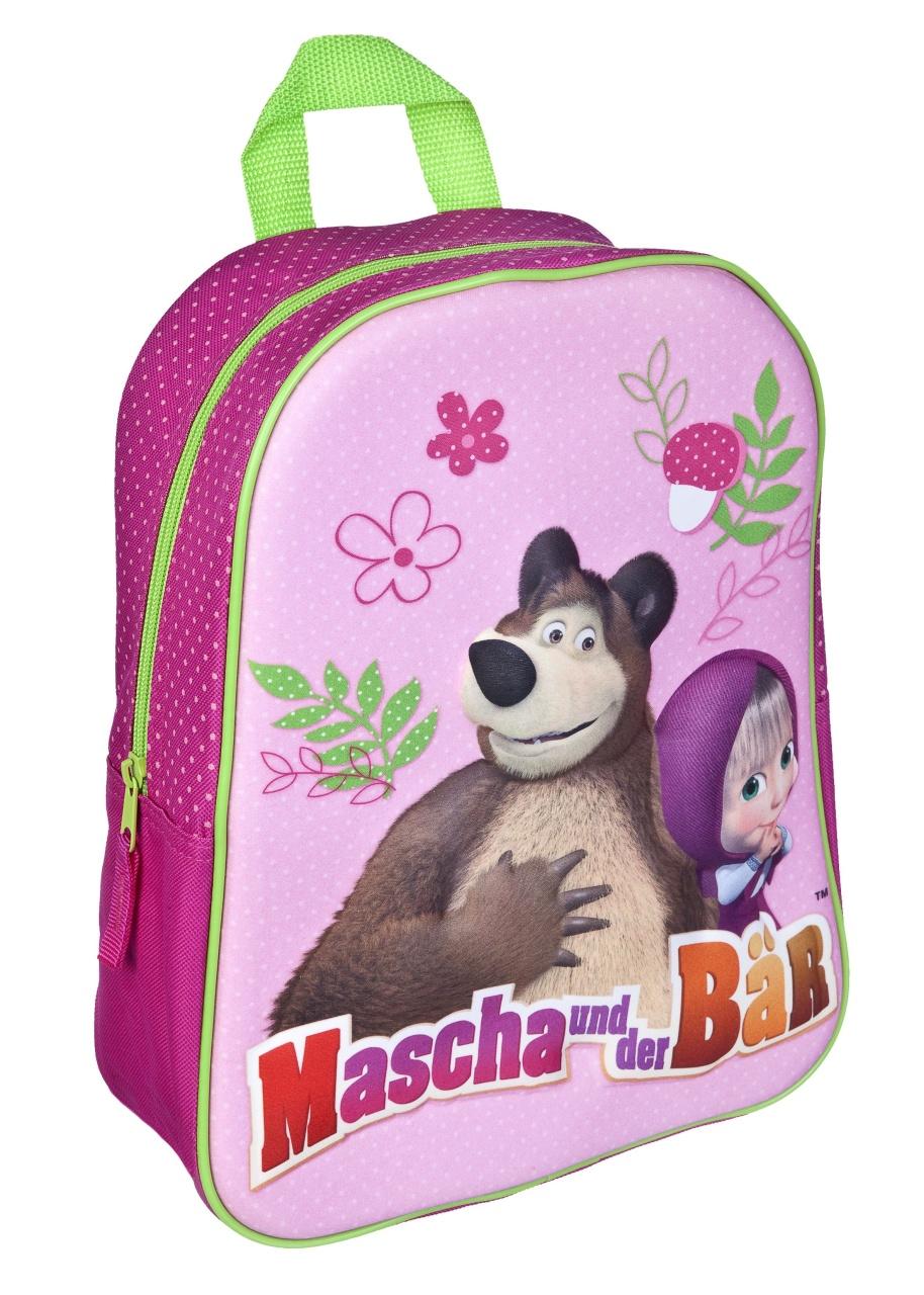 Mascha und der Bär 3D Rucksack