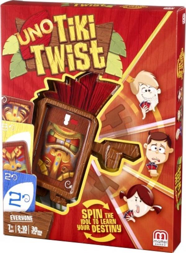 Mattel Uno Tiki Twist Kartenspiel