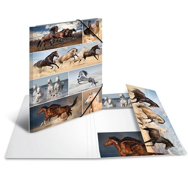 Herma Sammelmappe A3 Pferde