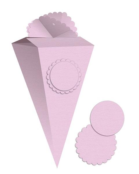 Vorschultüten zum Selbstgestalten rosa