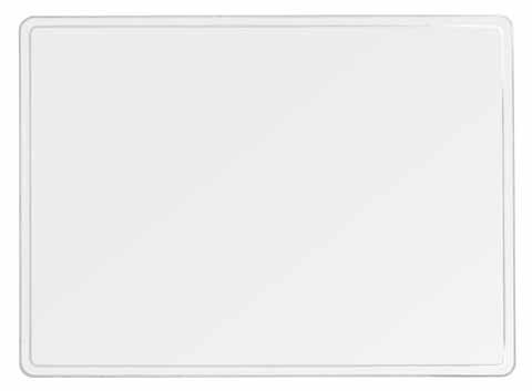Schreibunterlage 50 x 65 transparent