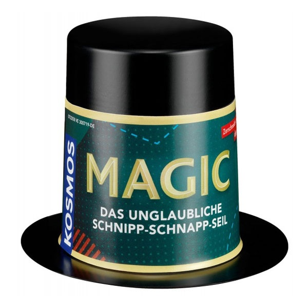 Magic Mini Zauberhut Das unglaubliche Schnipp-Schnapp-Seil