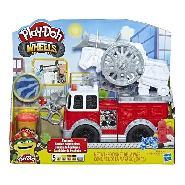 Play-Doh Wheels Feuerwehrauto mit 5 Dosen von Hasbro