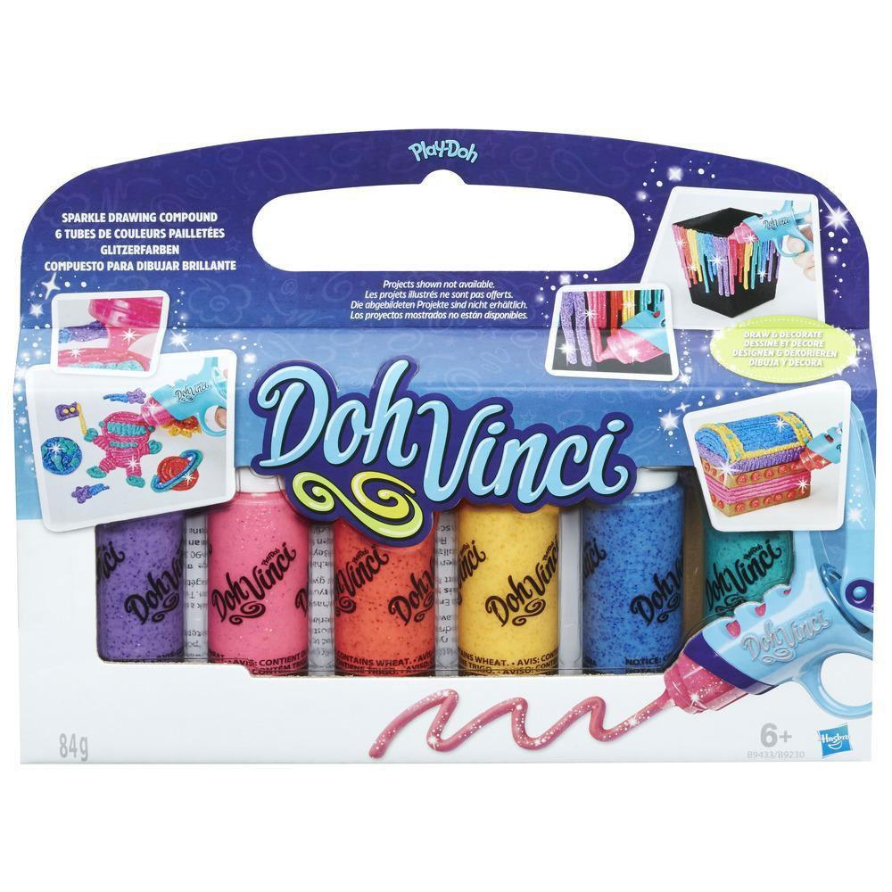 DohVinci Glitzerfarben 6er Pack