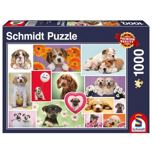Puzzle Freunde auf vier Pfoten 1000 Teile