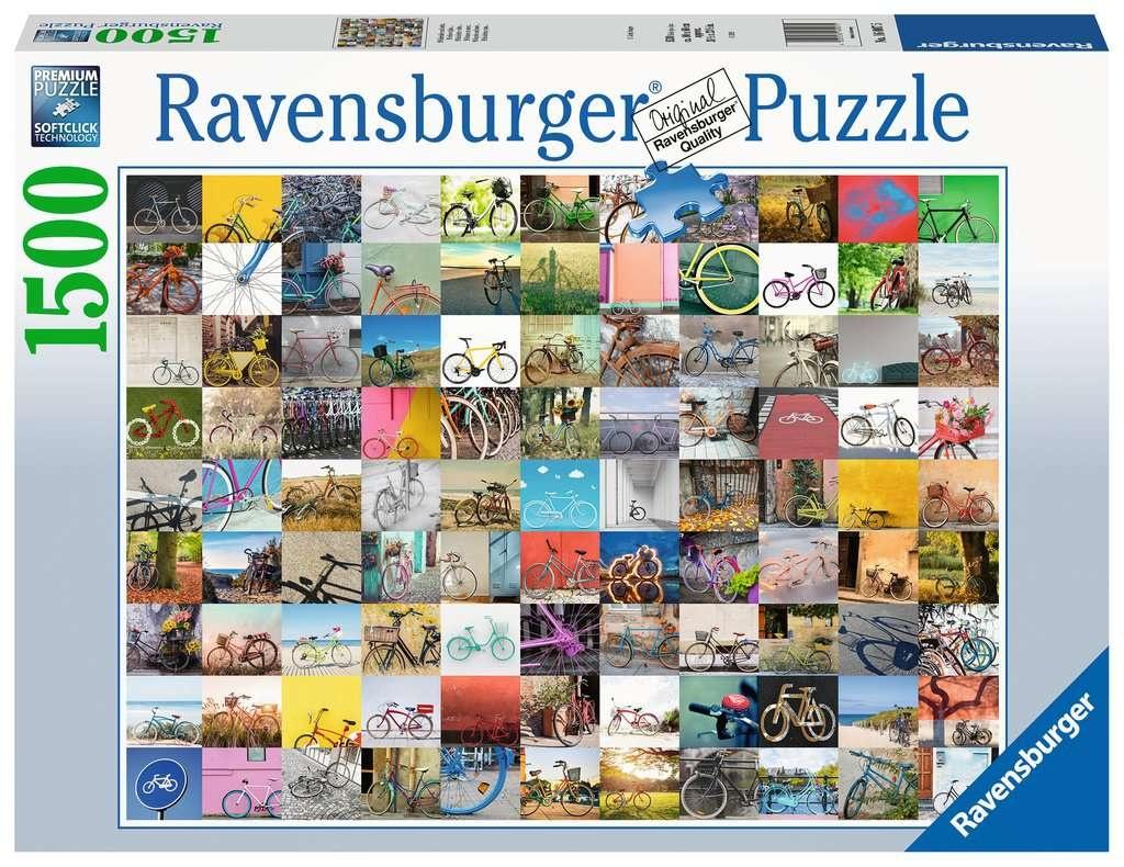 Ravensburger Puzzle 99 Fahrräder und mehr 1500 Teile
