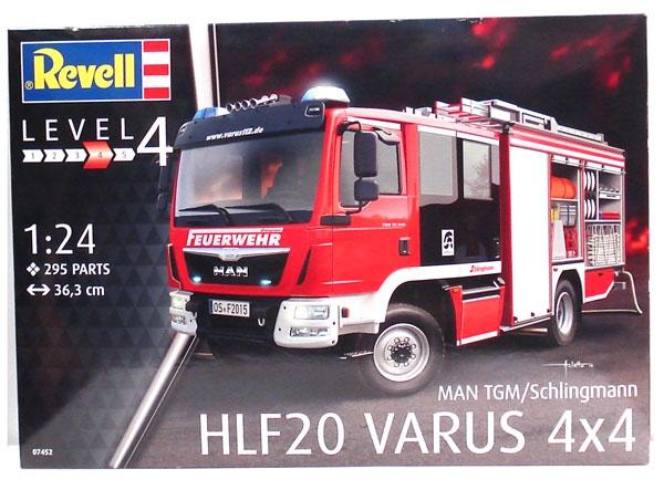 Revell 07452 MAN TGM Schlingmann HLF20 Varus 4X4 1:24