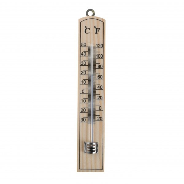 Zimmerthermometer Holz