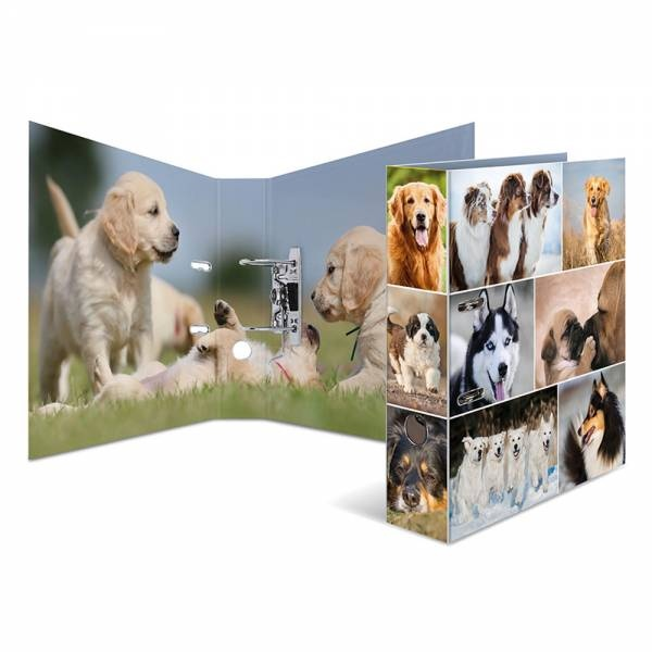 Herma Motivordner A4 Hunde