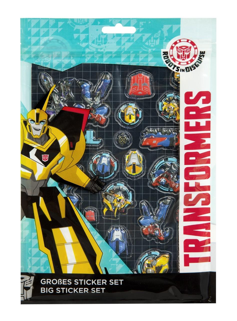 Transformers großes Sticker Set
