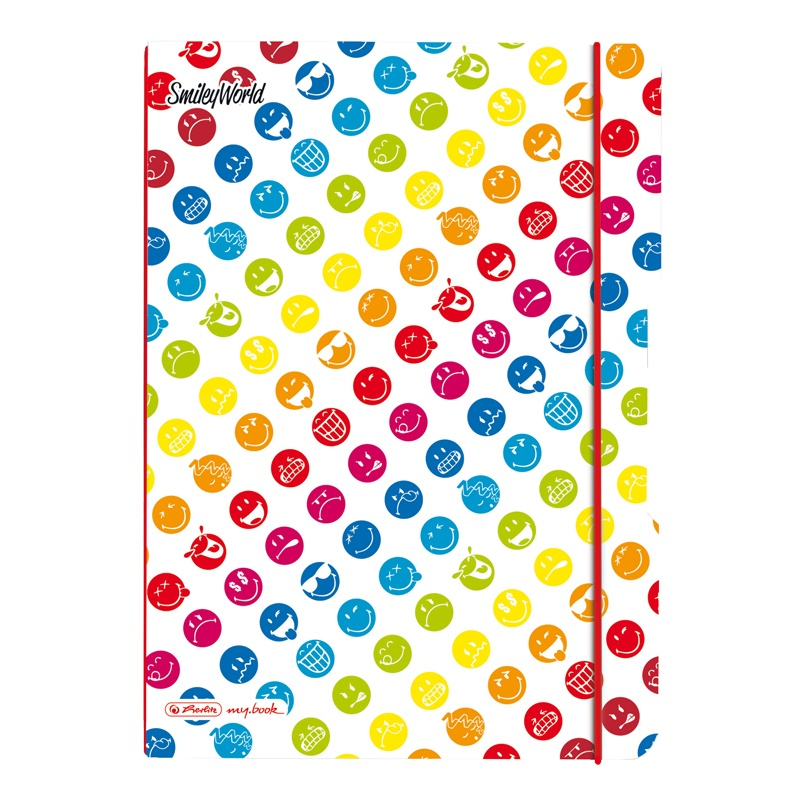 Herlitz Notizheft my.book Flex SmileyWorld Rainbow A4