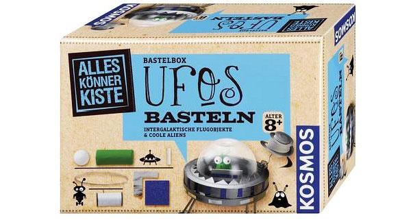 Bastelbox UFOs basteln Kosmos 60412