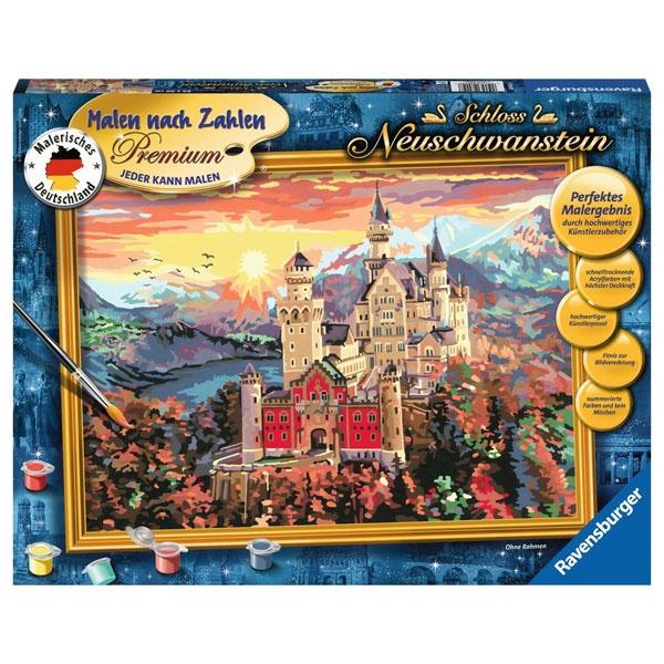 Ravensburger Malen nach Zahlen Schloss Neuschwanstein