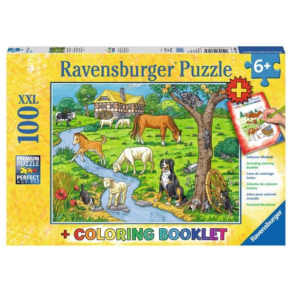 Ravensburger Puzzle Liebste Bauernhoftiere 100 Teile XXL