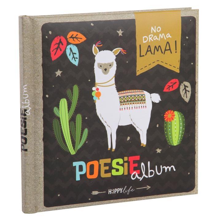 Goldbuch Poesiealbum HAPPYlife Lama
