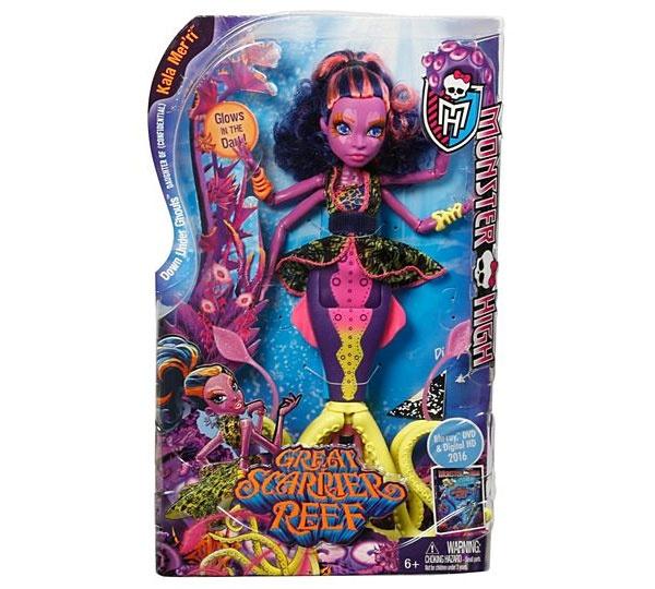 Monster High Puppe Kala Mer´ri - Schreckensriff