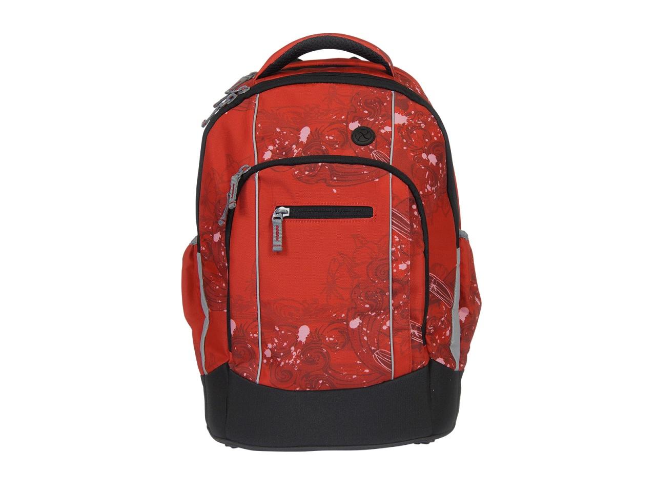 Schulrucksack Pacific red
