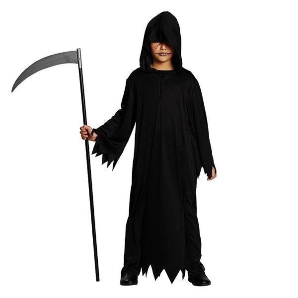 Kostüm schwarzes Gewand 140