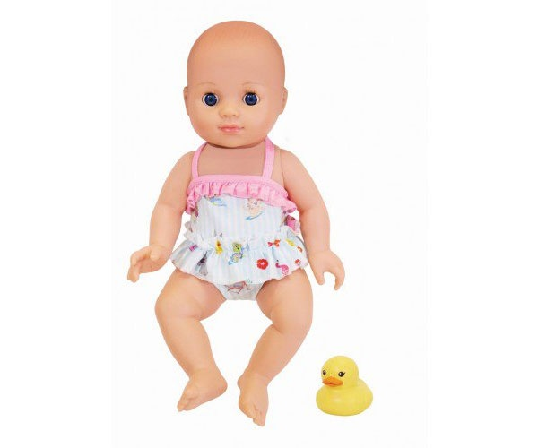 Schildkröt Badepuppe mit Mini-Ente