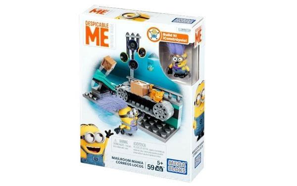 Mega Bloks Spielset Minions Panik im Postraum