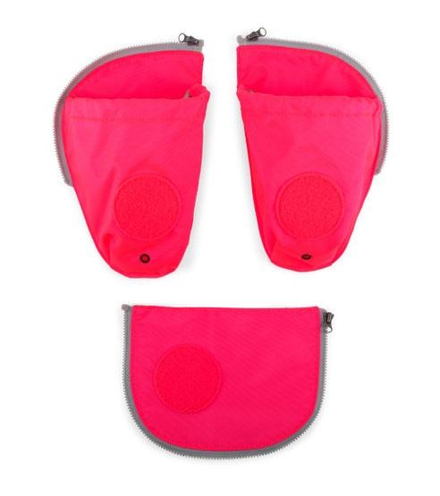 Ergobag Zubehör Pack Seitentaschen Zip-Set pink