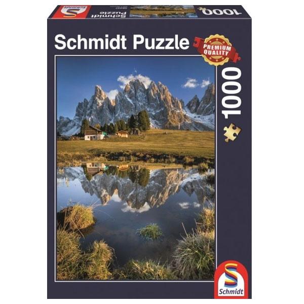 Puzzle Geisleralm 1000 Teile