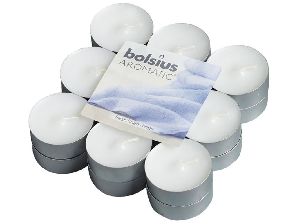Bolsius Duft-Teelichter 18 Stück Packung Morgenfrische