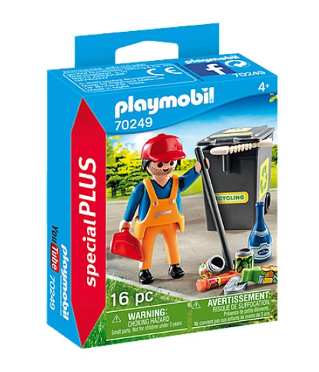 Playmobil 70249 specialPlus Straßenreiniger