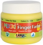 Mucki Fingerfarbe orange 150ml