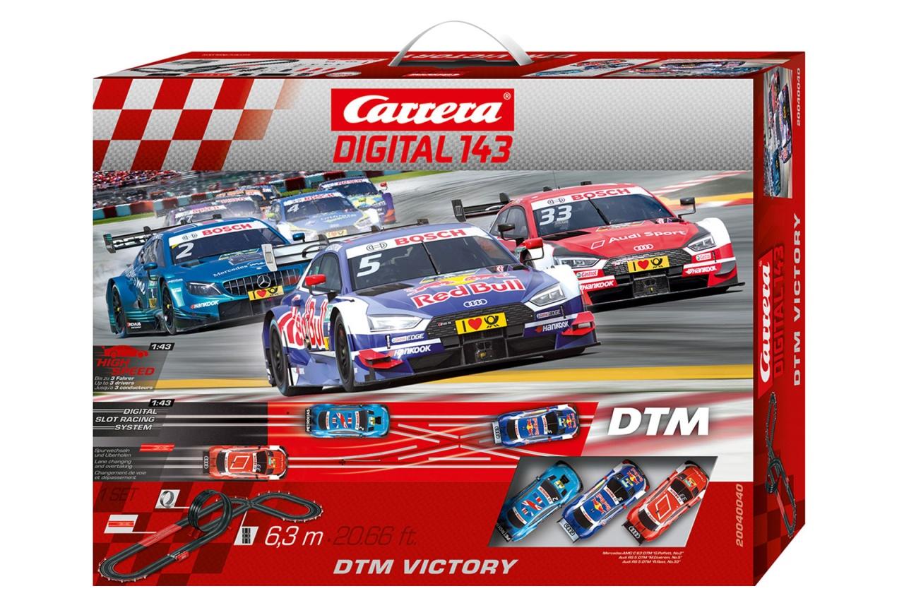 Carrera Digital 143 Autorennbahn DTM Victory 40040