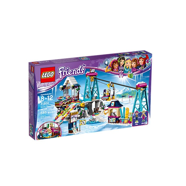 Lego 41324 Friends Skilift im Wintersportort