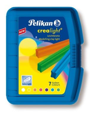 Pelikan Knetbox Crealight blau 7 Stangen