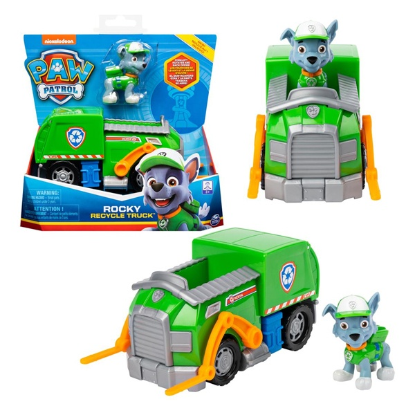 Paw Patrol Rocky Recycle Truck Basic Vehicle