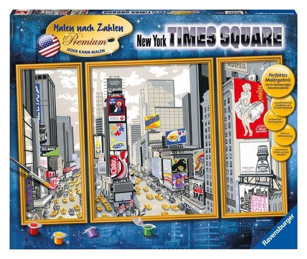 Malen Nach Zahlen New York Times Square