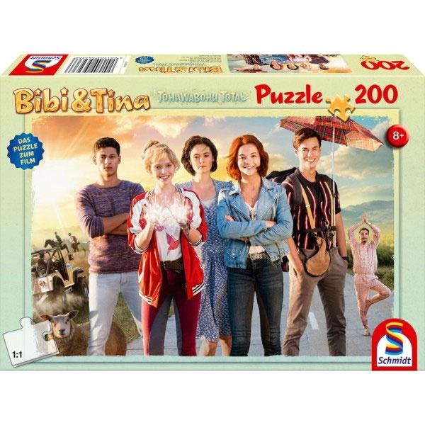 Puzzle Bibi & Tina Tohuwabohu Total 200 Teile